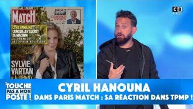 Cyril Hanouna Dans Paris Match Sa Reaction Dans Tpmp Xmu0K5Ku0E0 Image