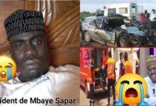 Dernier Minute Li Mbaye Sapar Sapar Wakhon Avant Accident Bi Bouma Sanion Ijnsesf853U Image