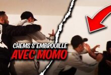 Embrouille Chems Se Bat Contre Momo Il Casse Son Telephone Kksm4Tnhis4 Image