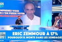 Eric Zemmour A 17 Pourquoi Le Journaliste Monte Dans Les Sondages Rm9Qskwsx6I Image