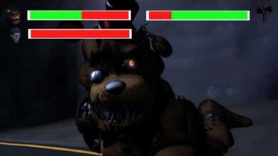 Fnaf Demented Freddy Vs Siren Head With Healthbars Voddtajffyu Image