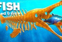 Je Deviens Un Requin Squelette Dans Feed And Grow Fish Zeaivg3Qo4 Image
