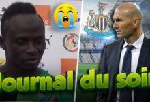 La Tristesse De Sadio Mane Zidane Repond A Newcastle Galtier Clashe Belmadi Jds T5Vwihlh5Kw Image