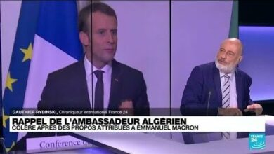 Lalgerie Interdit Le Survol De Son Territoire Aux Avions Militaires Francais O France 24 Fogsu06Slza Image