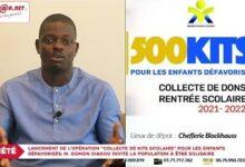 Lancement De Loperation Collecte De Kits Scolaire Pour Les Enfants Defavorises 0Vzcmhotp0G Image