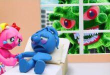 Le Blue Est Gravement Malade A Cause Du Virus Animated Cartoons Characters Clay Mixer Heroes U3Spouzvvss Image