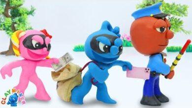 Le Blue Est Un Voleur Ruse Animated Cartoons Characters Clay Mixer Heroes Cydxarmgqos Image