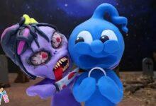 Le Cauchemar De Blue Animated Cartoons Characters Clay Mixer Heroes Mprx1Bl40Se Image