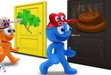 Le Choix Simple De Blue Animated Cartoons Characters Clay Mixer Heroes Lxjkxbueu64 Image