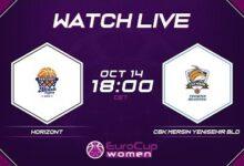 Live Horizont V Cbk Mersin Yenisehir Bld Eurocup Women 2021 22 Dj1Twqgdtji Image