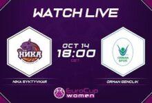 Live Nika Syktyvkar V Orman Genclik Eurocup Women 2021 22 Aprf9W6J5Ai Image