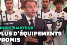 Macron Promet 5000 Infrastructures En Plus Pour Le Sport Amateur Avant Les Jo 2024 Pfbbmevdfai Image