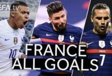Mbappe Giroud Griezmann France 2020 21 Unl All Goals To Reach The Final Dkprwmsb R4 Image