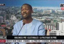 Ndoumbelane Aliou Sane Yam Ousmane Sonko A Le Droit Daller Ou Il Veut Meme Devant Chez Doudou Ka Nfbvhmzcaom Image