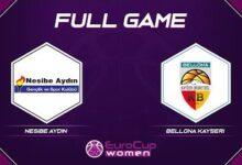 Nesibe Aydin V Bellona Kayseri Full Game Eurocup Women 2021 22 F7Jwyqaabe Image