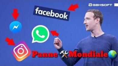 Panne Mondiale Pour Facebook Instagram Et Whatsapp Wjtr Fm8Y M Image