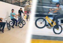 Premiere Session Sur Le Skatepark On Sest Surpasse Adtropd1 Xu Image