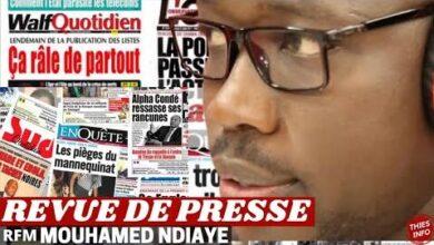 Revue De Presse Rfm Wolof Mamadou Mohamed Ndiaye Du 06 Octobre 2021 V8Vgv Qcnna Image