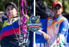 Sara Lopez V Jyothi Surekha Vennam Compound Women Gold Yankton 2021 World Archery Championships Ytlekhaasto Image