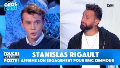 Stanislas Rigault President De Generation Z Affirme Son Engagement Pour Eric Zemmour Llmxlhn Moi Image