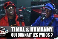 Timal Qui Connait Les Lyrics Avec Hvmanny Planeterap Xdbb2M74Ywo Image