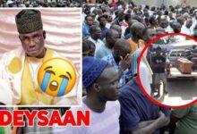 Urgent Touba Triste L Enterrement De Mbaye Sapar Sapar Ndeysaan Adouna Dou Dara U7Cd07Pl5Mi Image
